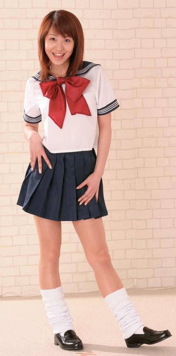 Culotte d'écolière de jap